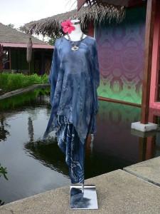 батик, индиго, модели для батика, свободная роспись