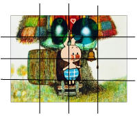 Батик, рисунки для батика, увеличение картинки