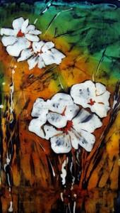 горячий батик,рисунки для батика,горячий батик,панно,рисунки цветов