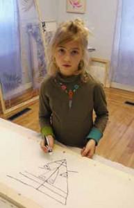 Детское творчество,рисуют дети, батик, детская студия