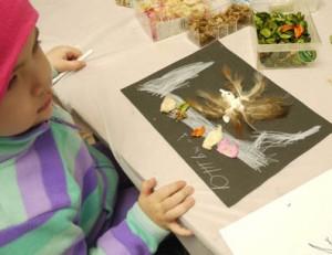 Рисуют дети,детское творчество, батик
