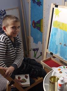 Детское творчество,рисуют дети,батик