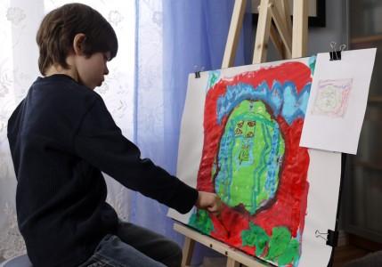 изобразительное искусство, батик, детское творчество, художественная школа, художественная студия